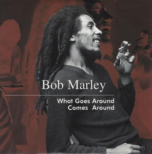 """Bob Marley What Goes Around Comes Around CD single (CD5 / 5"""") French"""