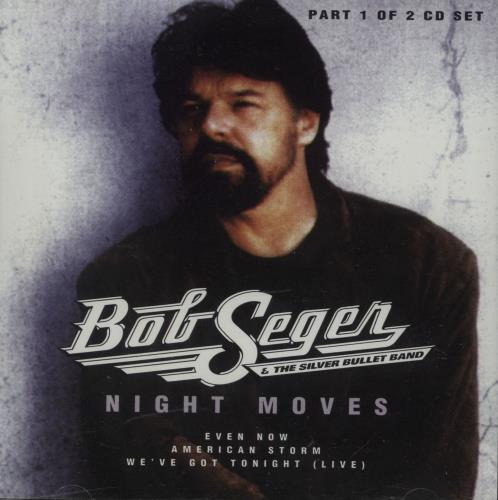 bob seger night moves cds 1 2 uk 2 cd single set double cd single 88519. Black Bedroom Furniture Sets. Home Design Ideas