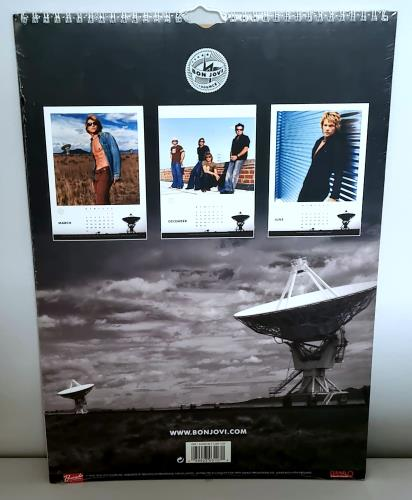 Bon Jovi Calendar 2003 UK calendar (225424) 107