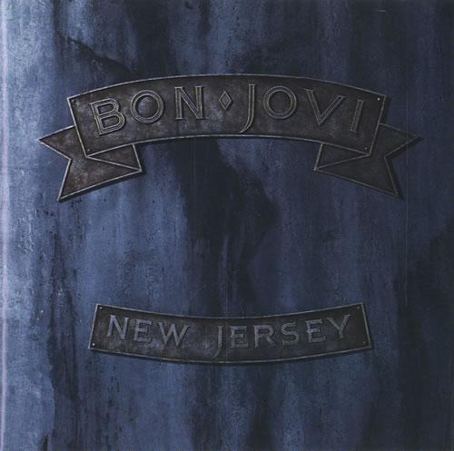 Bon Jovi New Jersey Japanese CD album (CDLP) (121278)