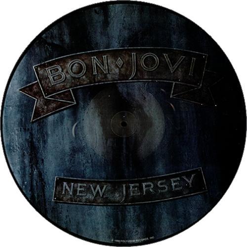 Bon Jovi New Jersey US picture disc LP (vinyl picture disc album ...