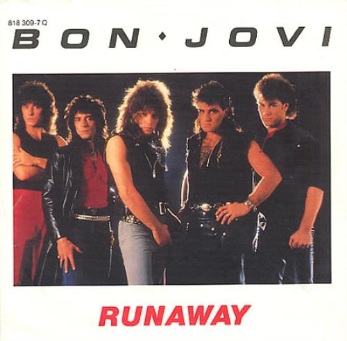 Bon Jovi Runaway German 7 Quot Vinyl Single 7 Inch Record