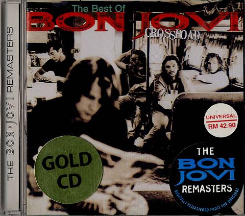 Bon Jovi The Best Of Crossroad Gold Edition Malaysia