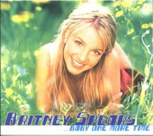 Britney Spears Baby One More Time Music Cd: Britney Spears Baby One More Time Hong Kong 2 CD Album Set