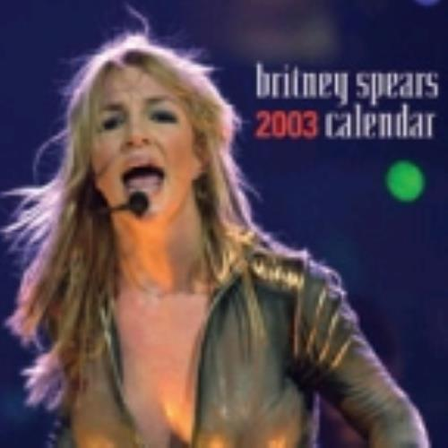 Britney Spears Calendar 2003 UK calendar (225212) MUS058