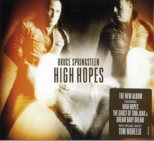 Bruce Springsteen High Hopes Uk Cd Album Cdlp 623673