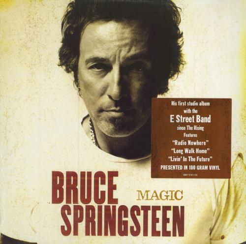 Bruce Springsteen Magic Us Vinyl Lp Album Lp Record 415926