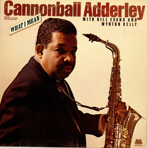 Cannonball Adderley What I Mean Us 2 Lp Vinyl Record Set
