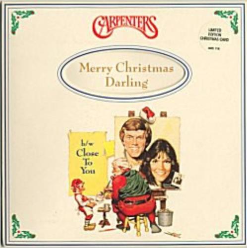 Carpenters Merry Christmas Darling - Christmas Card Edition UK 7 ...