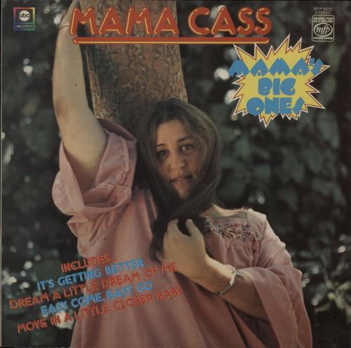 Cass Elliot Mama S Big Ones Uk Vinyl Lp Album Lp Record