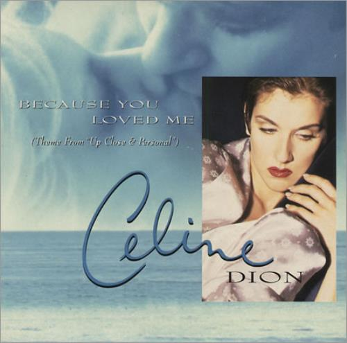 celine dion because you loved me austrian promo cd single. Black Bedroom Furniture Sets. Home Design Ideas
