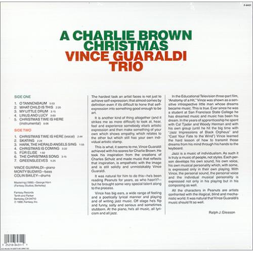 Charlie Brown (Peanuts) A Charlie Brown Christmas US vinyl LP ...