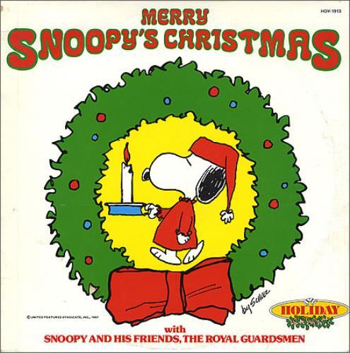 Charlie Brown (Peanuts) Merry Snoopy's Christmas US vinyl LP album ...