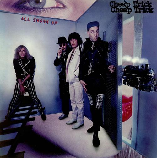 Cheap Trick All Shook Up Uk Vinyl Lp Album Lp Record