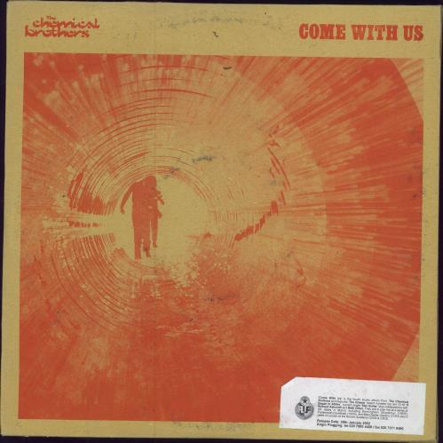 Chemical Brothers Come With Us Uk Promo 3 Lp Vinyl Record