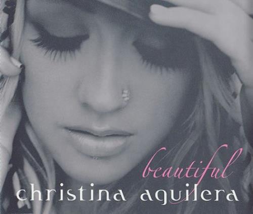 christina aguilera beautiful uk cd single cd5 5quot 234801