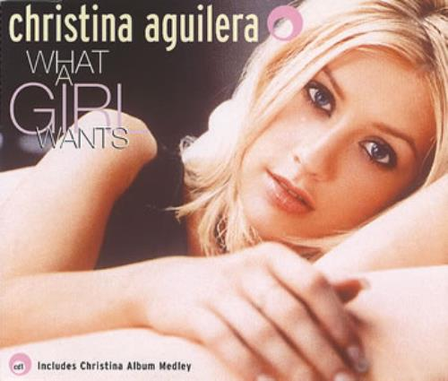 Christina Aguilera What A Girl Wants Part 2 Uk Cd Single