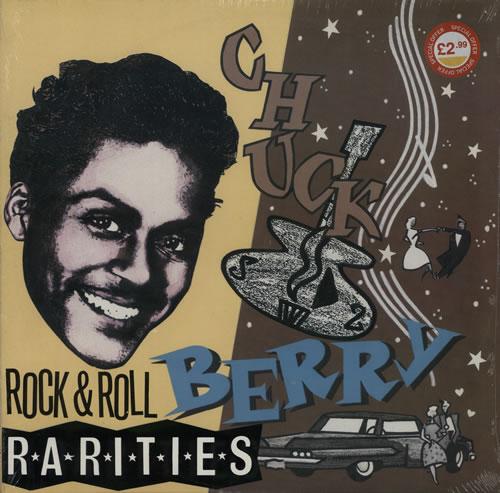 Chuck Berry Rock N Roll Rarities Sealed Italian 2 Lp