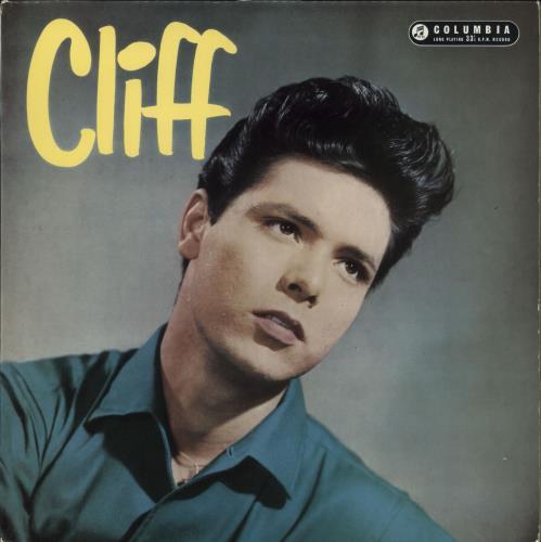 Cliff Richard Cliff 1st Uk Vinyl Lp Album Lp Record