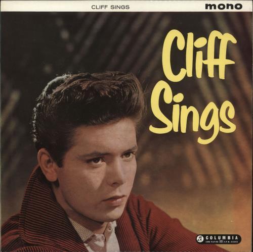 Cliff Richard Cliff Sings 1st Uk Vinyl Lp Album Lp