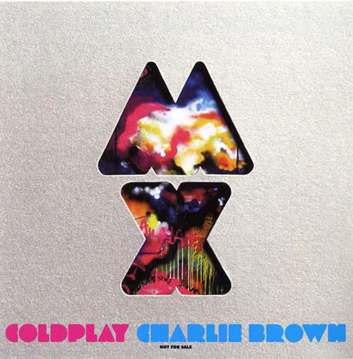 Coldplay Charlie Brown Japanese Promo CD-R Acetate (552497