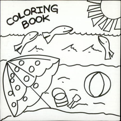 coloring book sand in my shoes 7 vinyl single 7 inch record us