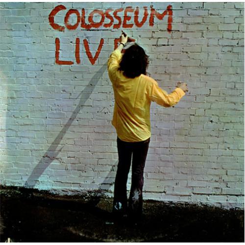 Colosseum Live Sealed Us 2 Lp Vinyl Record Set Double