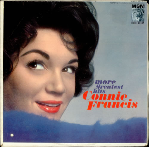 Connie Francis More Greatest Hits US vinyl LP album (LP ...