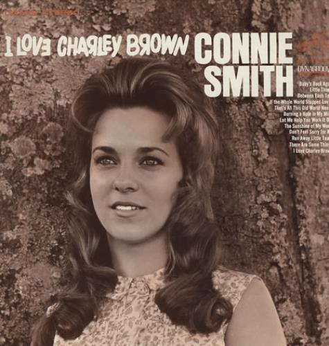 Connie S Corner: Connie Smith I Love Charley Brown US Vinyl LP Album (LP