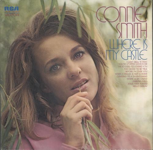 Connie Smith Where Is My Castle Uk Vinyl Lp Album Lp