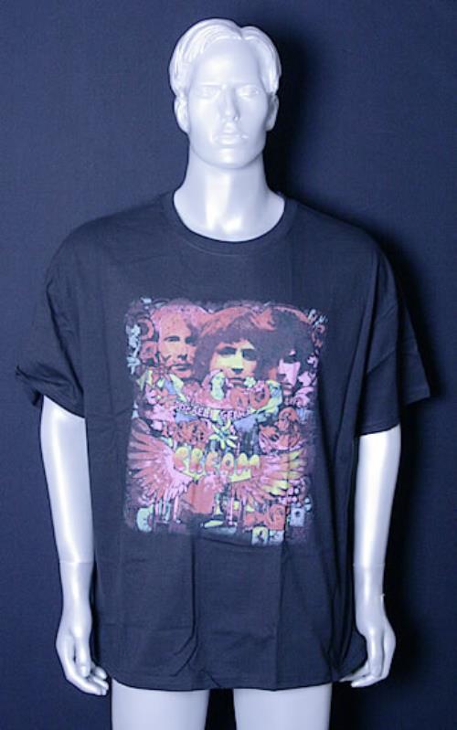 Cream Disraeli Gears Royal Albert Hall 2005 Uk T Shirt