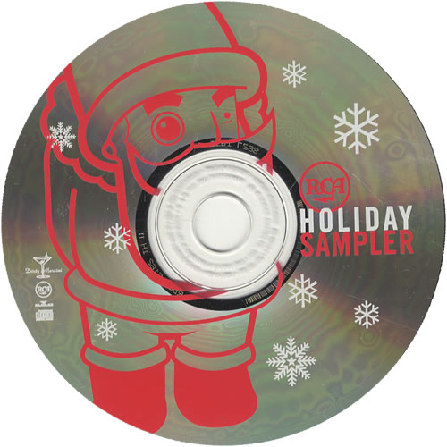 Dave Matthews Band Christmas Song US Promo CD single (CD5 / 5 ...
