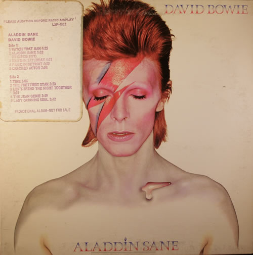 Αποτέλεσμα εικόνας για ALADDIN SANE-David Bowie vinyl