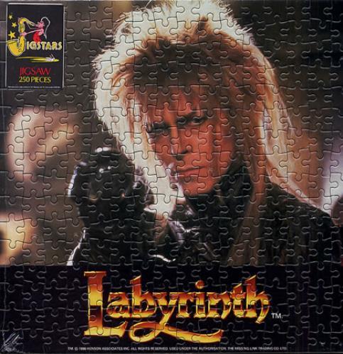 David Bowie Labyrinth Uk Memorabilia 336798 Jigsaw