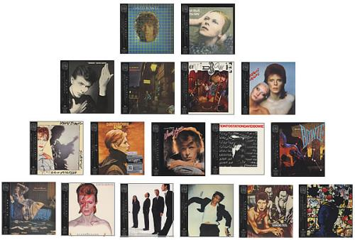 David Bowie Paper Sleeve Collection Box Set Complete