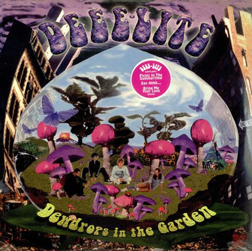 Deee Lite Dewdrops In The Garden Us 2 Lp Vinyl Record Set