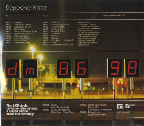 Depeche Mode The Singles
