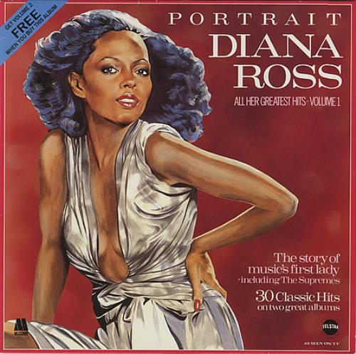Diana Ross Portrait All Her Greatest Hits Volumes 1