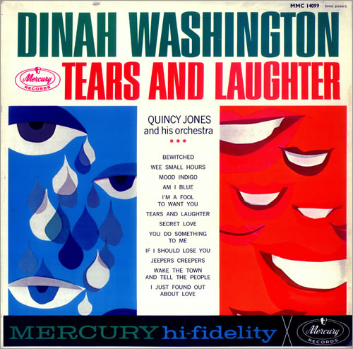 Dinah Washington Tears And Laughter - Factory Sample UK Promo ...