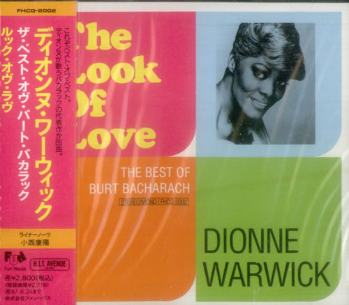 Dionne Warwick The Look Of Love The Best Of Burt