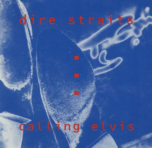 Dire Straits Calling Elvis Canadian Promo Cd Single Cd5