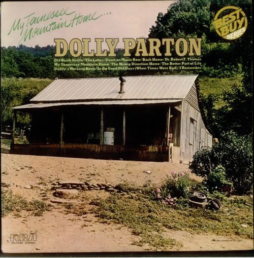 Dolly Parton My Tennessee Mountain Home Us Vinyl Lp Album