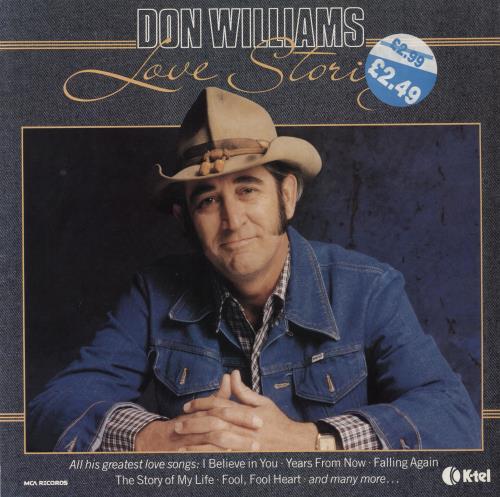 Don Williams Love Stories Uk Vinyl Lp Album Lp Record