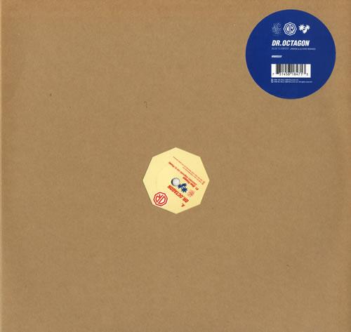 Dr Octagon Blue Flowers Remi 12 Vinyl Single Inch Record Maxi
