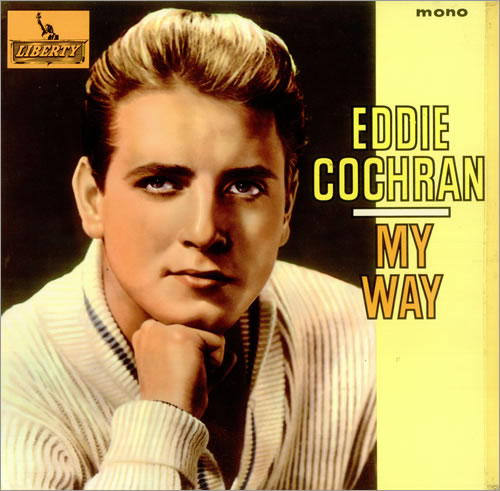 Eddie Cochran My Way Uk Vinyl Lp Album Lp Record 448994