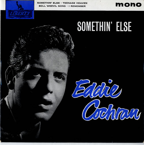 Eddie Cochran Somethin Else Uk 7 Quot Vinyl Single 7 Inch