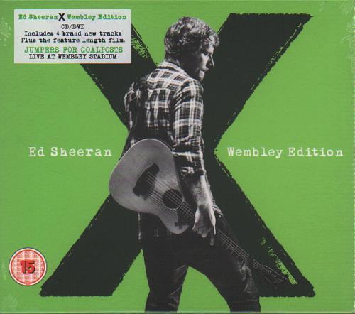 Ed Sheeran X Wembley Edition Sealed Uk 2 Disc Cd Dvd