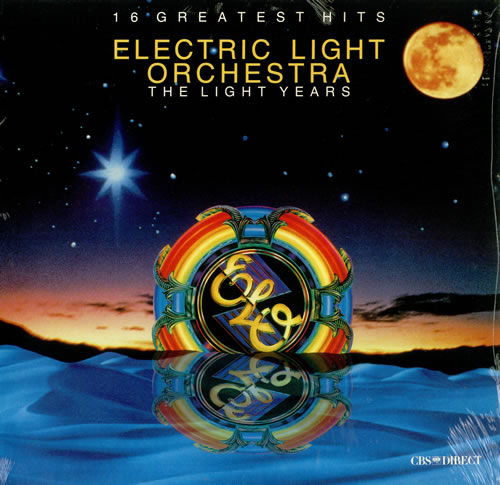 Electric Light Orchestra The Light Years Sealed Canadian