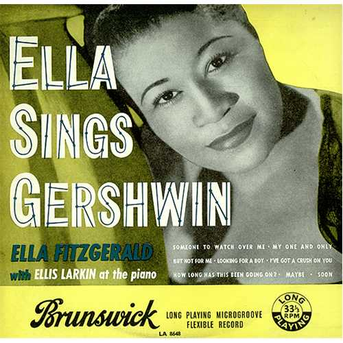 Ella Fitzgerald Ella Sings Gershwin Uk 10 Quot Vinyl Single