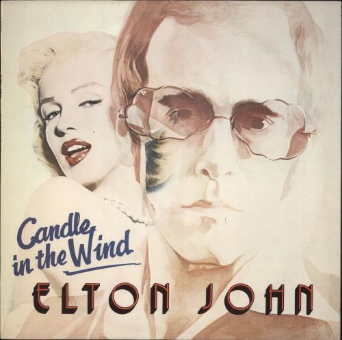 Elton John Candle In The Wind Uk Vinyl Lp Album Lp Record